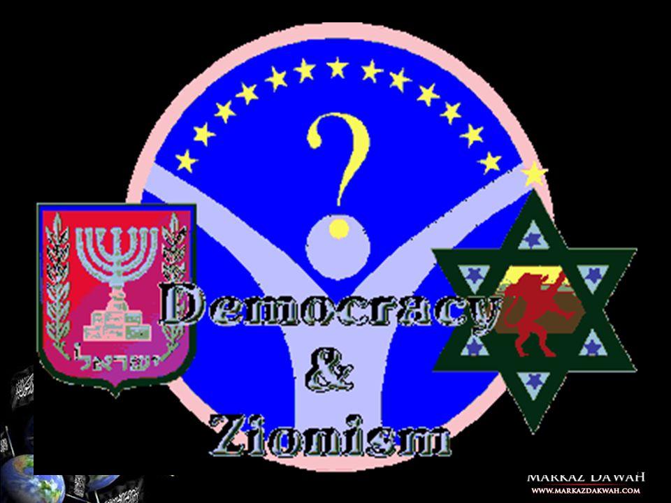 Demokrasi dan matinya Agama itulah ujung dari Protocol of Zion Protocol of Zion nomor 5: Ada suatu langkah yang mampu membikin opini umum, yaitu kita harus mengajukan berbagai pandangan yang dapat menggoyahkan keyakinan-keyakinan sebelumnya yang sudah tertanam di hati dan pikiran masyarakat.