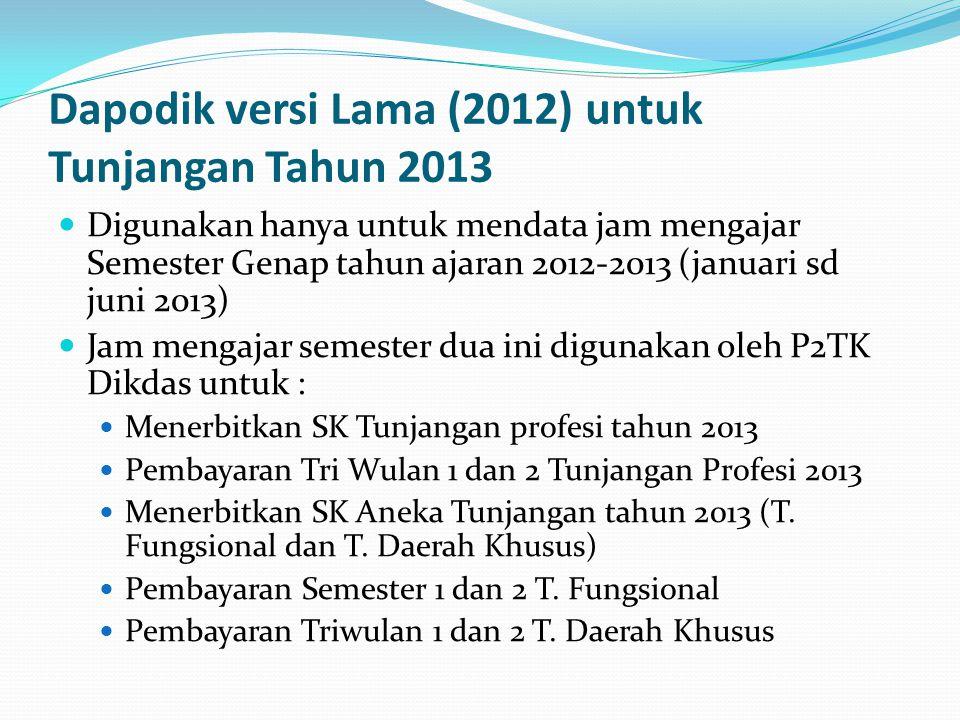 23-31 September : Penerbitan SK Susulan TW3  P2TK Dikdas akan menerbitkan SK Tunjangan Profesi bagi guru guru yang dinyatakan memenuhi syarat memperoleh Tunjangan pada TW3 namun belum di sk kan pada TW1 dan TW2  P2TK akan menerbikan SK tunjangan Khusus pengganti untuk TW3 (jika ada)  P2TK akan menerbikan SK tunjangan Fungsional pengganti untuk Semester 2 (jika ada)  P2TK akan menerbikan SK tunjangan Kualifikasi pengganti untuk Semester 2 (jika ada)