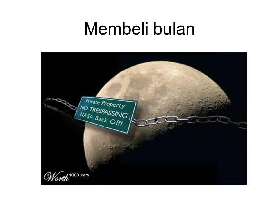Membeli bulan