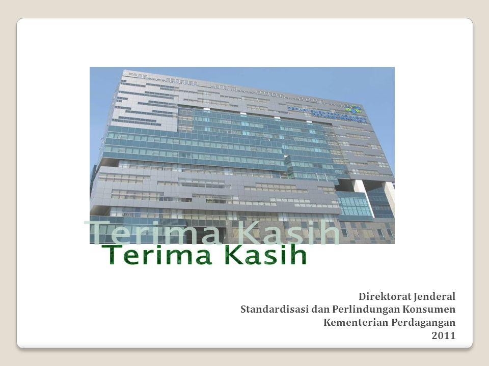 Direktorat Jenderal Standardisasi dan Perlindungan Konsumen Kementerian Perdagangan 2011