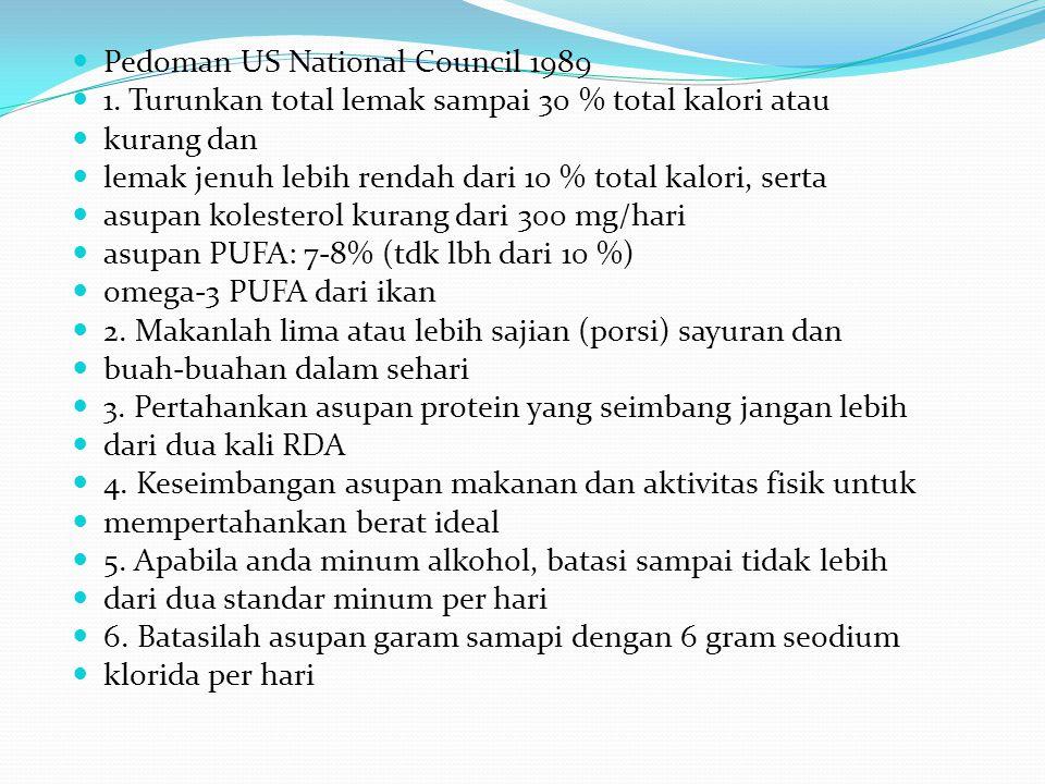  Pedoman US National Council 1989  1.