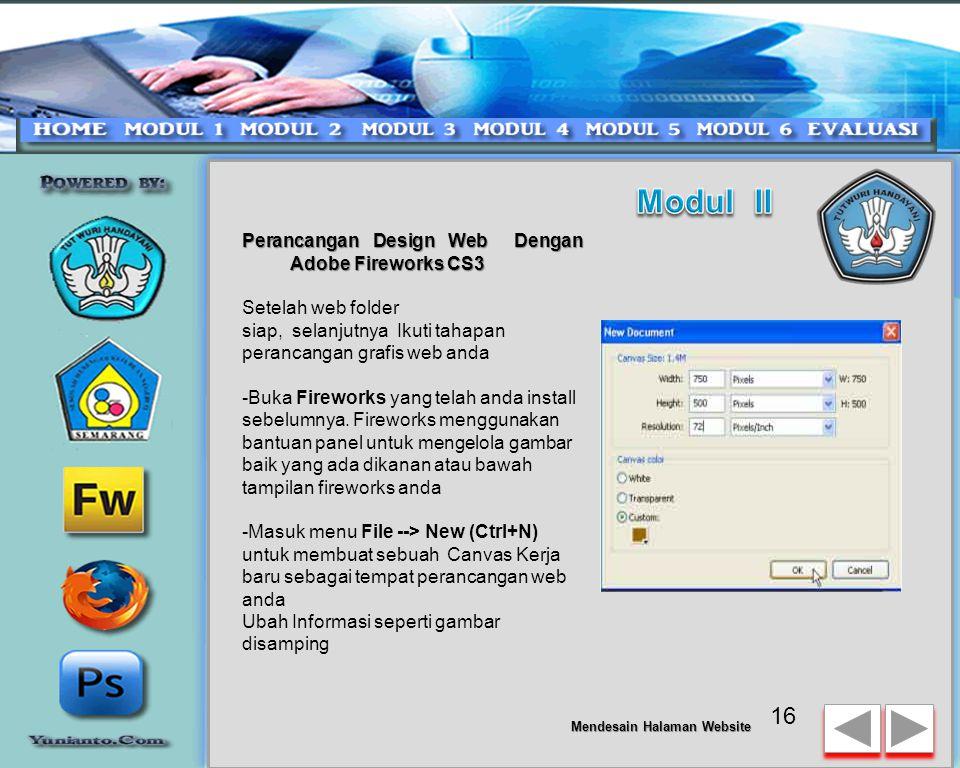 Mendesain Halaman Website 15