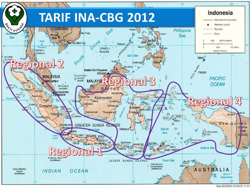TARIF INA-CBG 2012