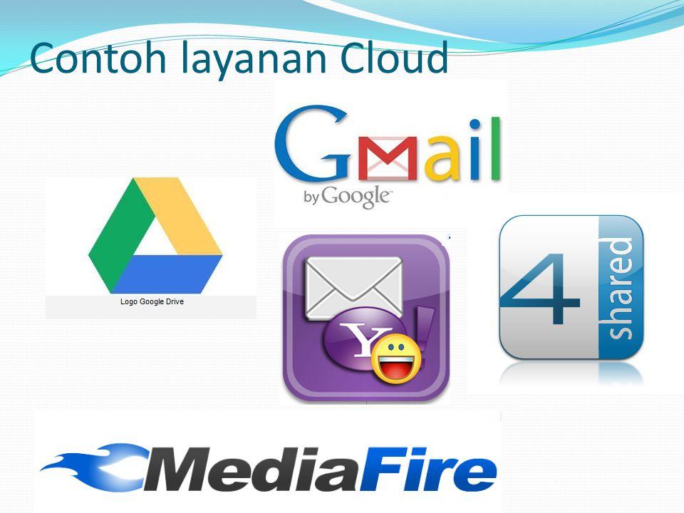 Contoh layanan Cloud