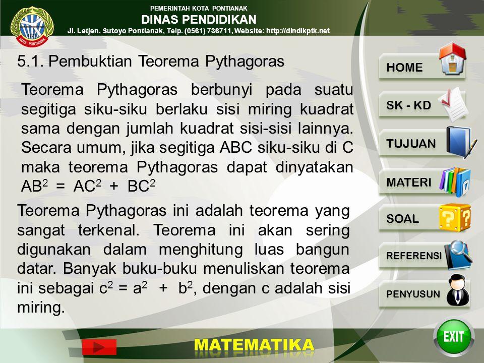 PEMERINTAH KOTA PONTIANAK DINAS PENDIDIKAN Jl. Letjen. Sutoyo Pontianak, Telp. (0561) 736711, Website: http://dindikptk.net TUJUAN PEMBELAJARAN 1.Disa