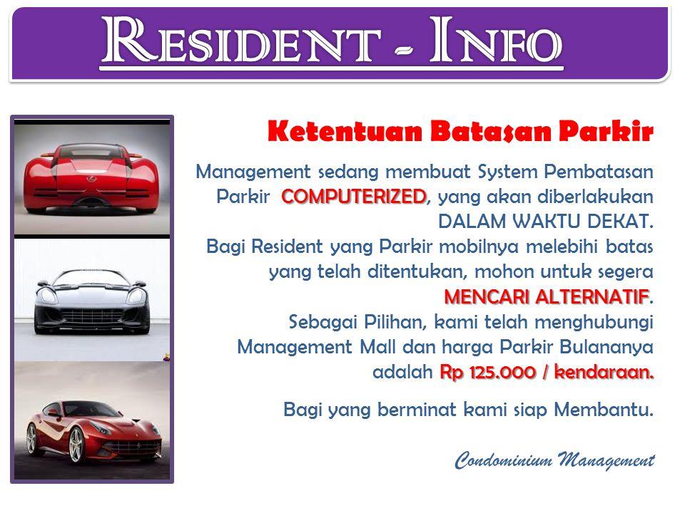 COMPUTERIZED MENCARI ALTERNATIF Rp 125.000 / kendaraan.