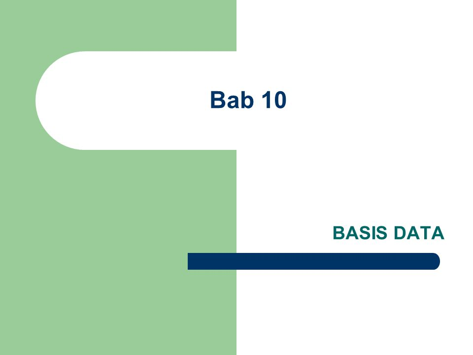 Konsep  Basis data dapat diartikan sebagai kumpulan sumber/ data yang disimpan di dalam komputer secara sistematik sehingga dapat diperiksa menggunakan suatu program komputer untuk memperoleh informasi dari data tersebut.