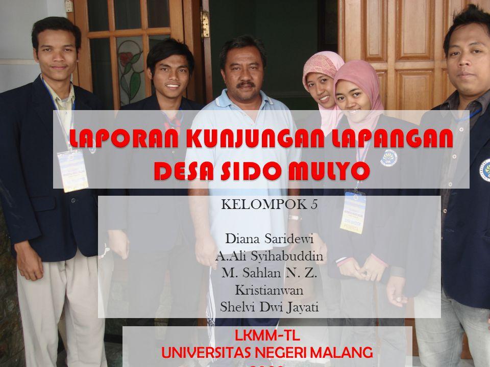 KELOMPOK 5 Diana Saridewi A.Ali Syihabuddin M.Sahlan N.