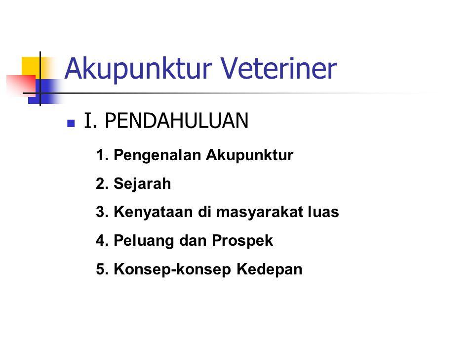 Akupunktur Veteriner  II.