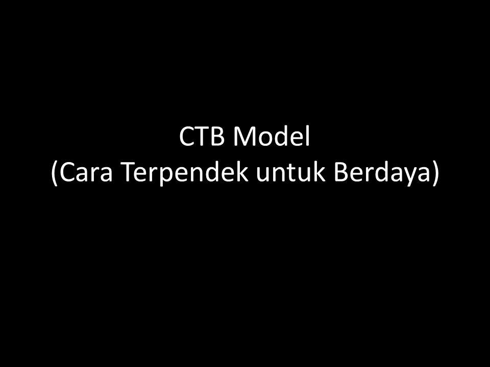 CTB Model (Cara Terpendek untuk Berdaya)