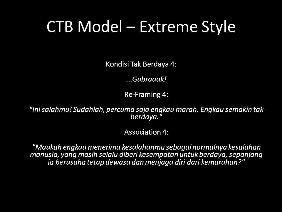 CTB Model – Extreme Style Kondisi Tak Berdaya 4:...Gubraaak.
