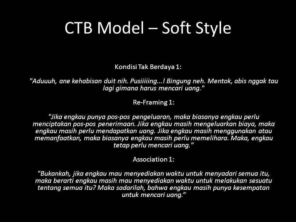 CTB Model – Soft Style Kondisi Tak Berdaya 1: Aduuuh, ane kehabisan duit nih.