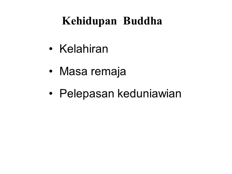 Kehidupan Buddha • Kelahiran • Masa remaja • Pelepasan keduniawian • After Enlightenment