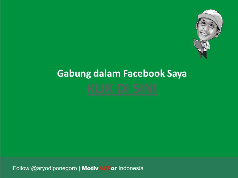 Gabung dalam Facebook Saya KLIK DI SINI KLIK DI SINI