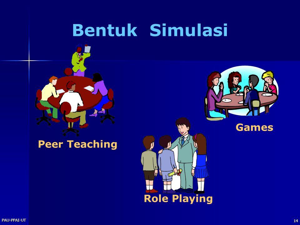 PAU-PPAI-UT 14 Bentuk Simulasi Role Playing Peer Teaching Games