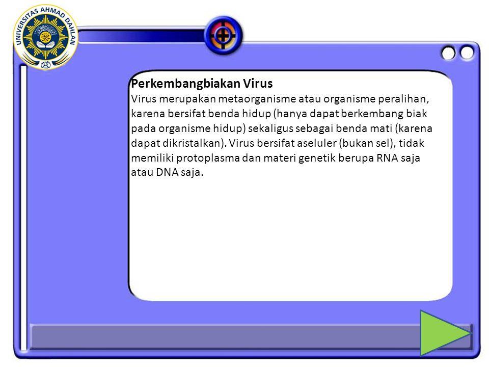 7.Ahli Biologi yang berhasil mengkristalkan virus adalah...