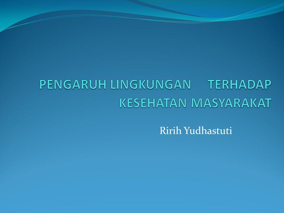 Ririh Yudhastuti