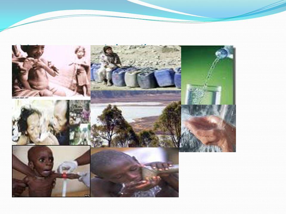 Krisis pangan, air bersih