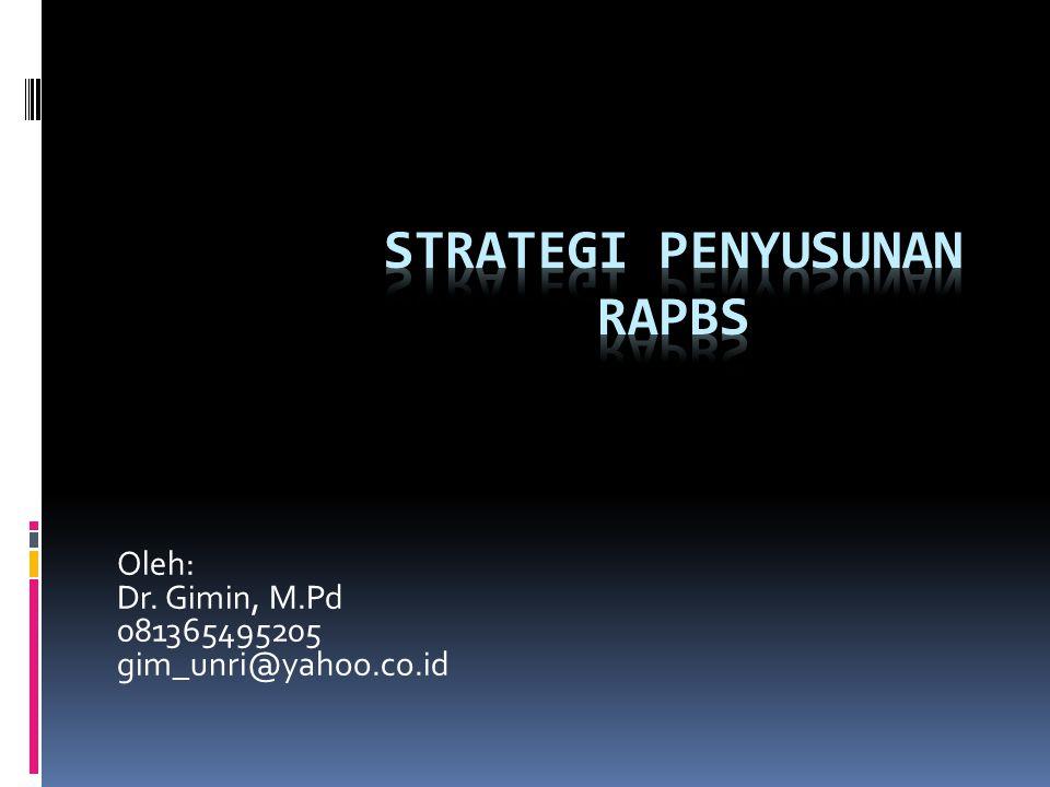 Oleh: Dr. Gimin, M.Pd 081365495205 gim_unri@yahoo.co.id