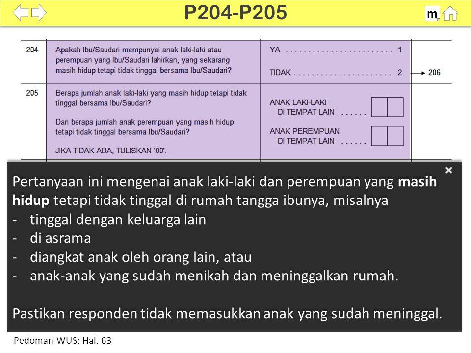100% SDKI 2012 P206-P208 m Pedoman WUS: Hal. 64