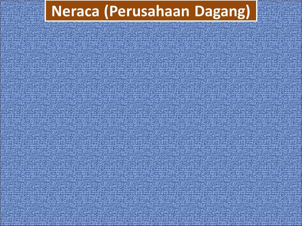 Neraca (Perusahaan Dagang)