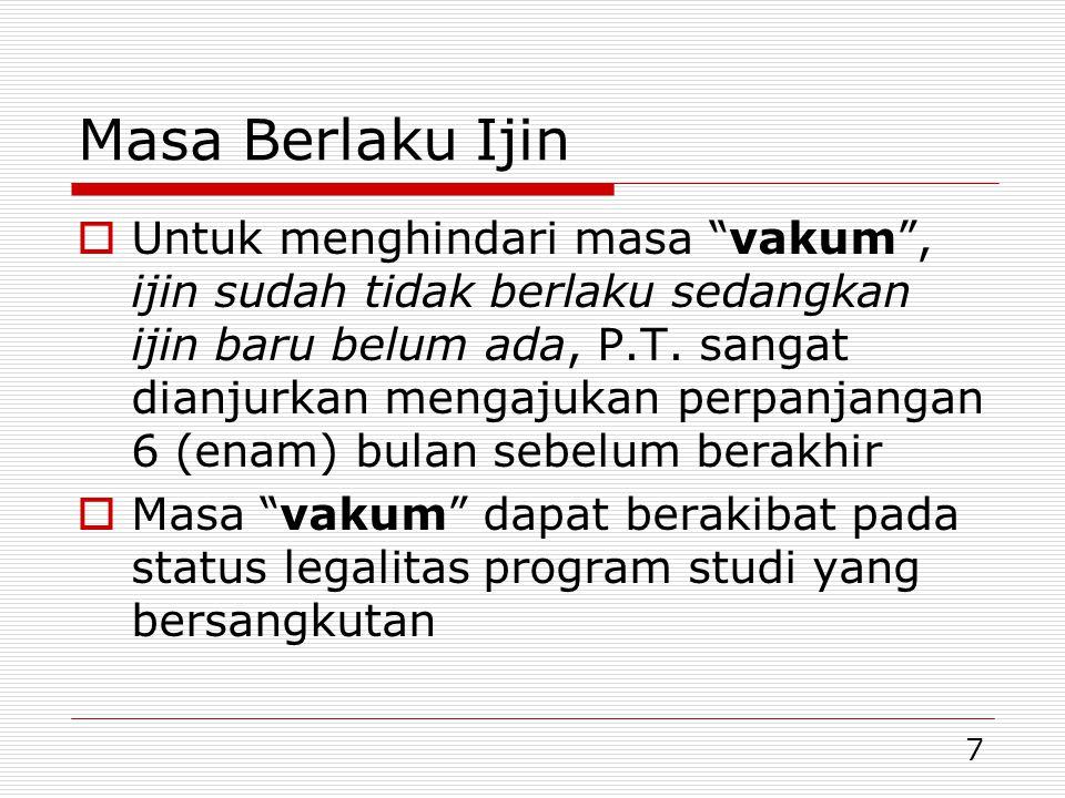 18 Pindah Homebase Dosen Tetap  Perpindahan homebase antar program studi di P.T.