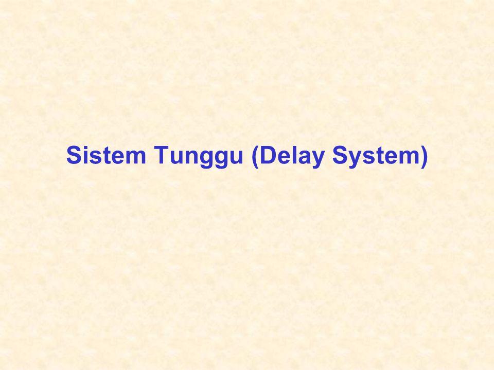 Tutun Juhana – ET3042 ITB 21 Rumus J.D.Little (5) •Bila sistem mencapai keadaan setimbang pada waktu t  , maka  t  , T t  T dan N t  N, sehingga N=  T •Hal tersebut menyatakan jumlah pelanggan di dalam sistem antrian=harga rata-rata laju kedatangan panggilan x harga rata-rata lamanya waktu pelanggan berada dalam sistem