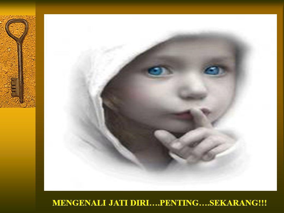 MENGENALI JATI DIRI….PENTING….SEKARANG!!!