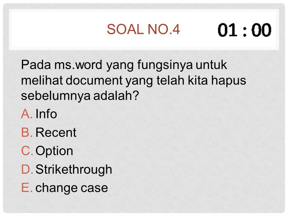 Soal no.25 Formula untuk kolom Harga adalah...