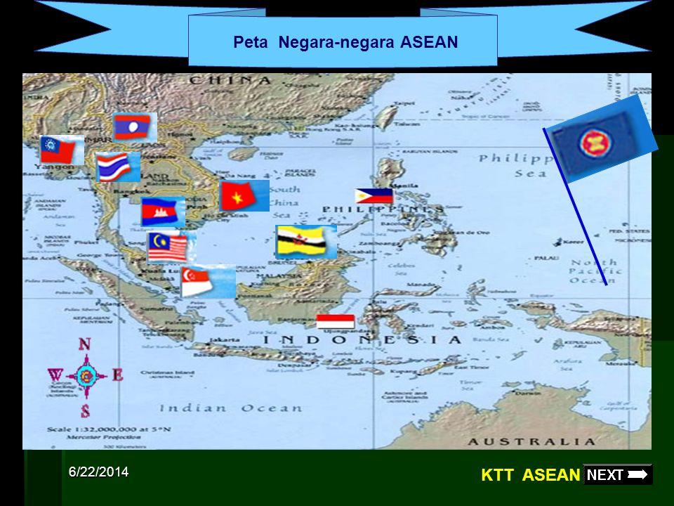 6/22/2014 Indonesia Malaysia Filipina Singapura Thailand Brunei Darussalam ( 7 Januari 1984 ) Vietnam ( 28 Juli 1995 ) Laos ( 23 Juli 1997 ) Myanmar (