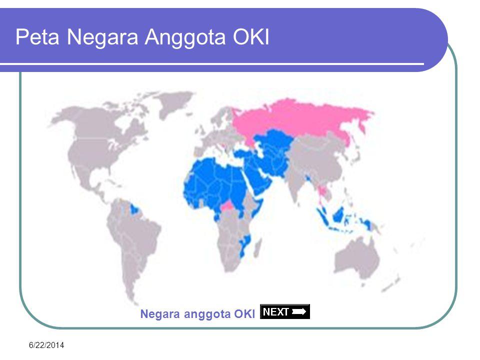 6/22/2014 Peta Negara anggota OKI