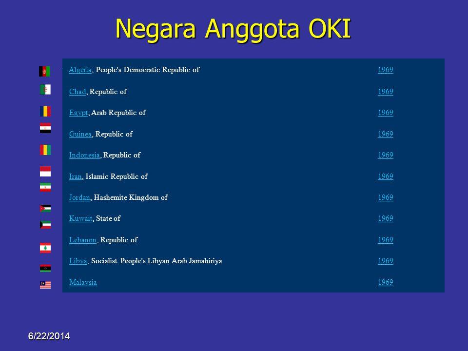 6/22/2014 Peta Negara Anggota OKI Negara anggota OKI