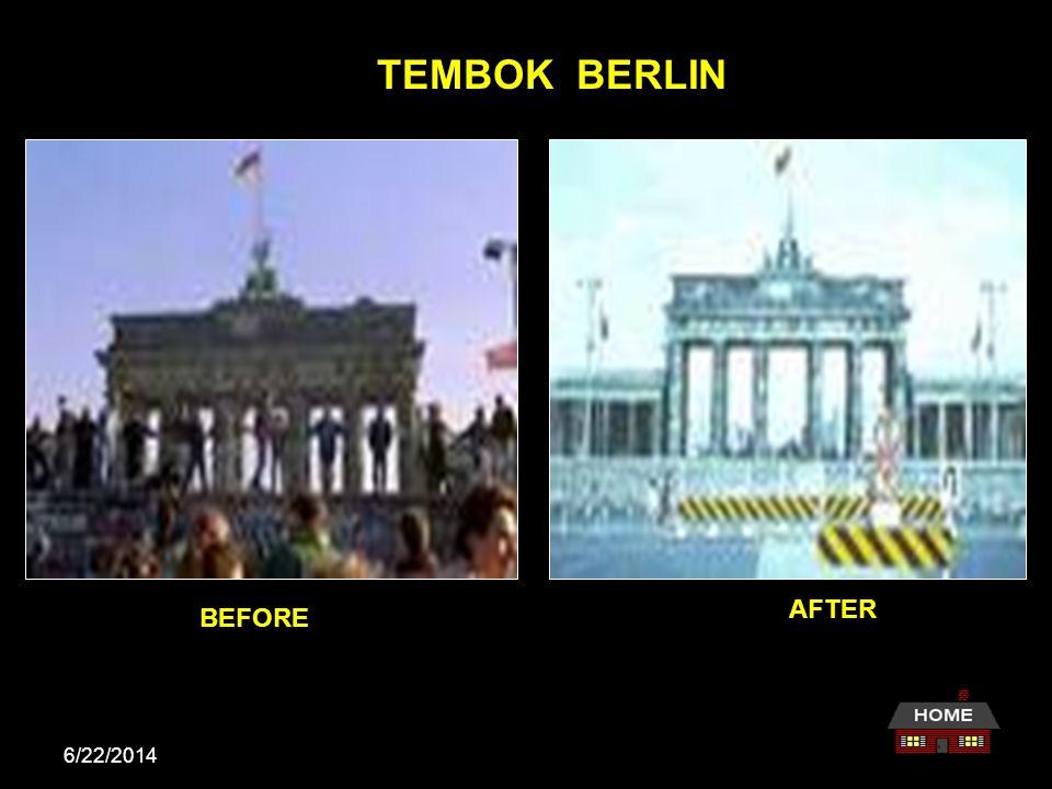 6/22/2014 Proses Bersatunya Jerman Pertemuan di Ottawa, Kanada TAHUN 1990 Jerman Barat dan Jerman Timur bersatu setelah Tembok Berlin berhasil diroboh