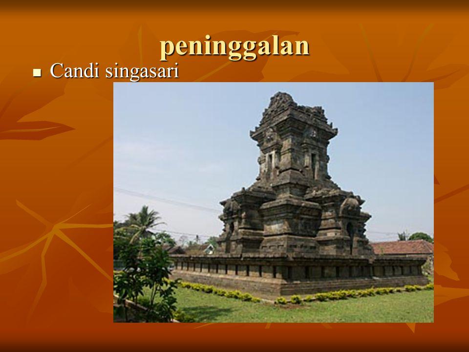 Prasasti mula malurung  Lempengan pertama berisi perintah Kertanagara untuk menerbitkan prasasti sebagai piagam pengesahan anugerah Bhatara Parameswara dan Seminingrat, sebagai penguasa Jawa.