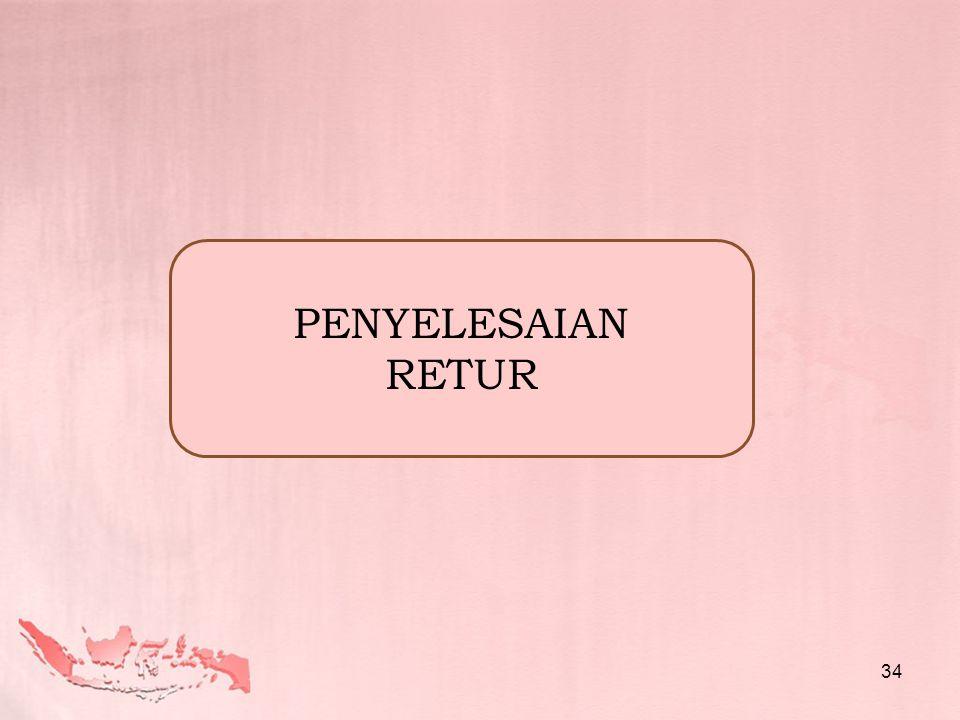 PENYELESAIAN RETUR 34