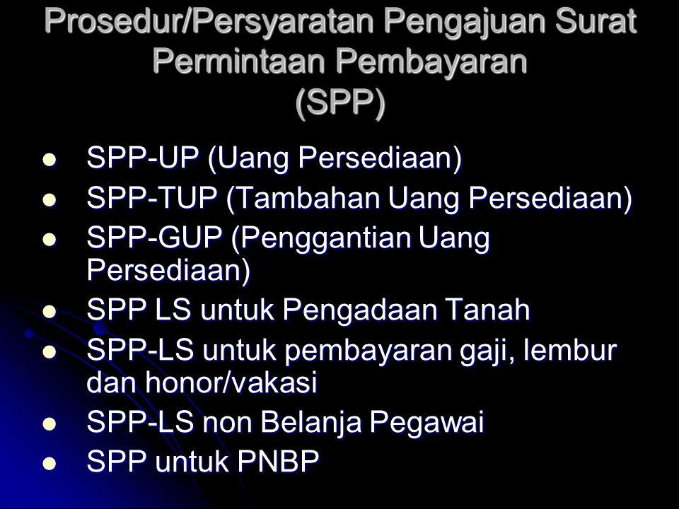 Prosedur Pencairan Dana • Prosedur Pengajuan Surat Permintaan Pembayaran (SPP) • Mekanisme Penerbitan SPM • Prosedur Penerbitan Surat Perintah Pencair