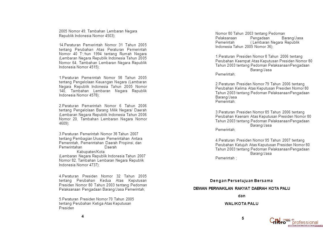 • download the free trial online at nitrondf.rom/nrofp,innal 2005 Nomor 49, Tambahan Lembaran Negara Republik Indonesia Nomor 4503); 14.Peraturan Peme