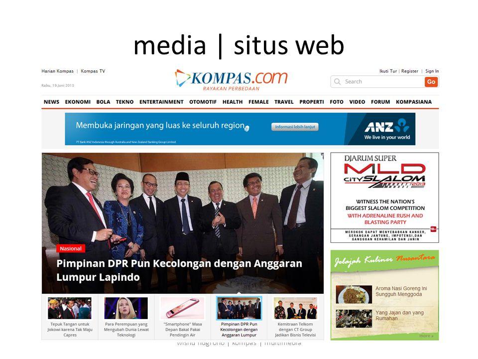 media | situs web wisnu nugroho | kompas | multimedia