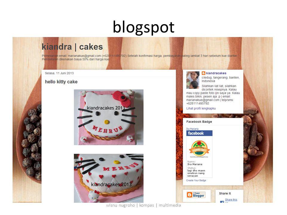 blogspot wisnu nugroho | kompas | multimedia