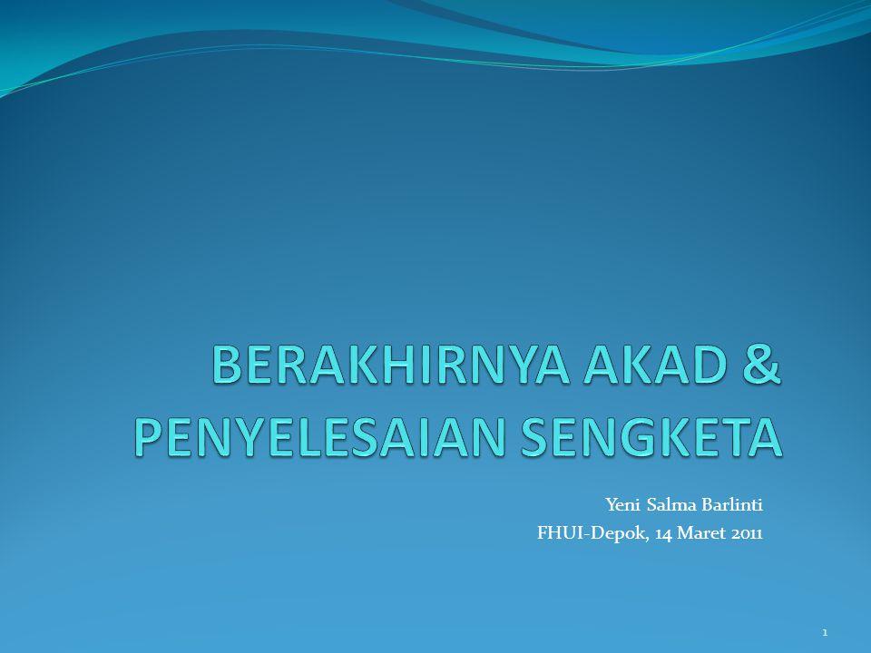 Yeni Salma Barlinti FHUI-Depok, 14 Maret 2011 1