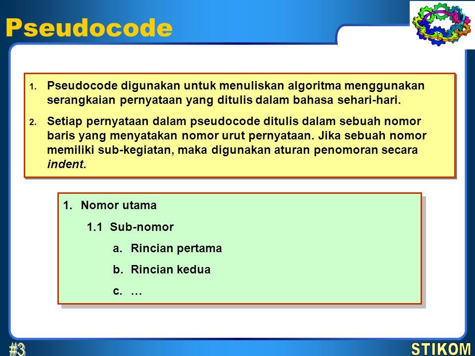 Pseudocode 1.