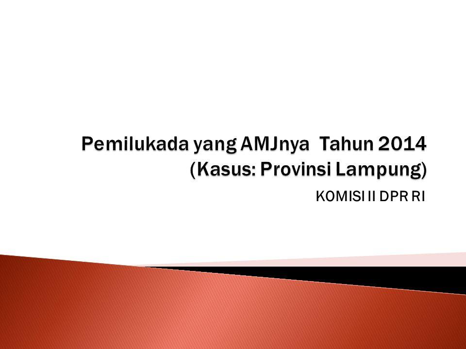 DaerahAMJ 2013AMJ 2014Tidak ada data Provinsi 1230 Kab/Kota 95372 Jumlah 107402