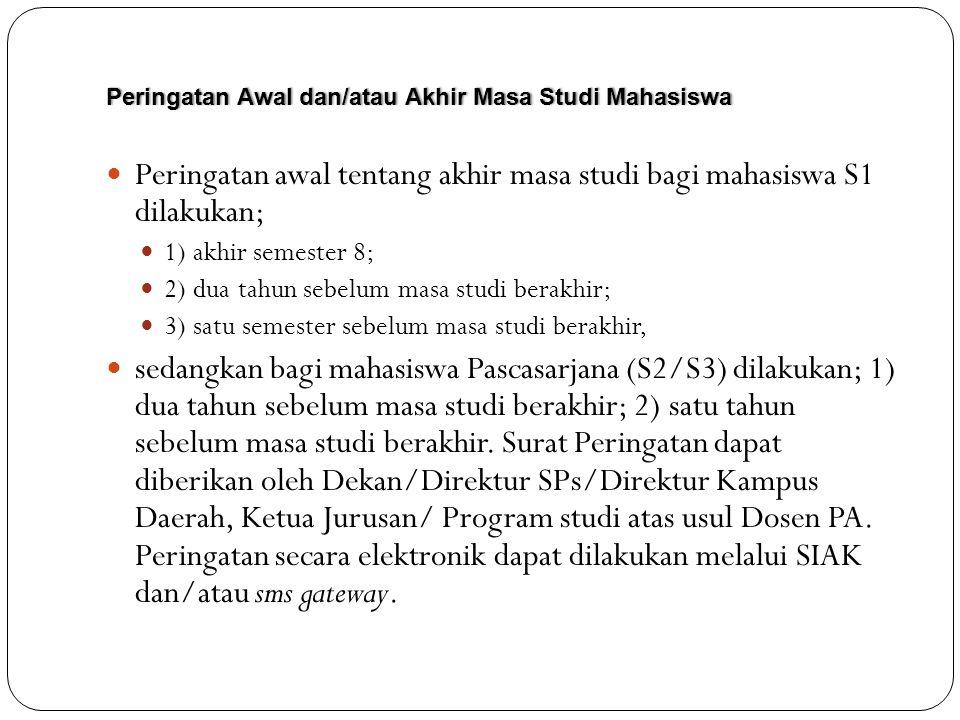 FUNGSI DAN SAAT-SAAT BIMBINGAN PROAKTIF: 1.SETELAH MASA ORIENTASI KAMPUS (BAGI MAHASISWA BARU); 2.