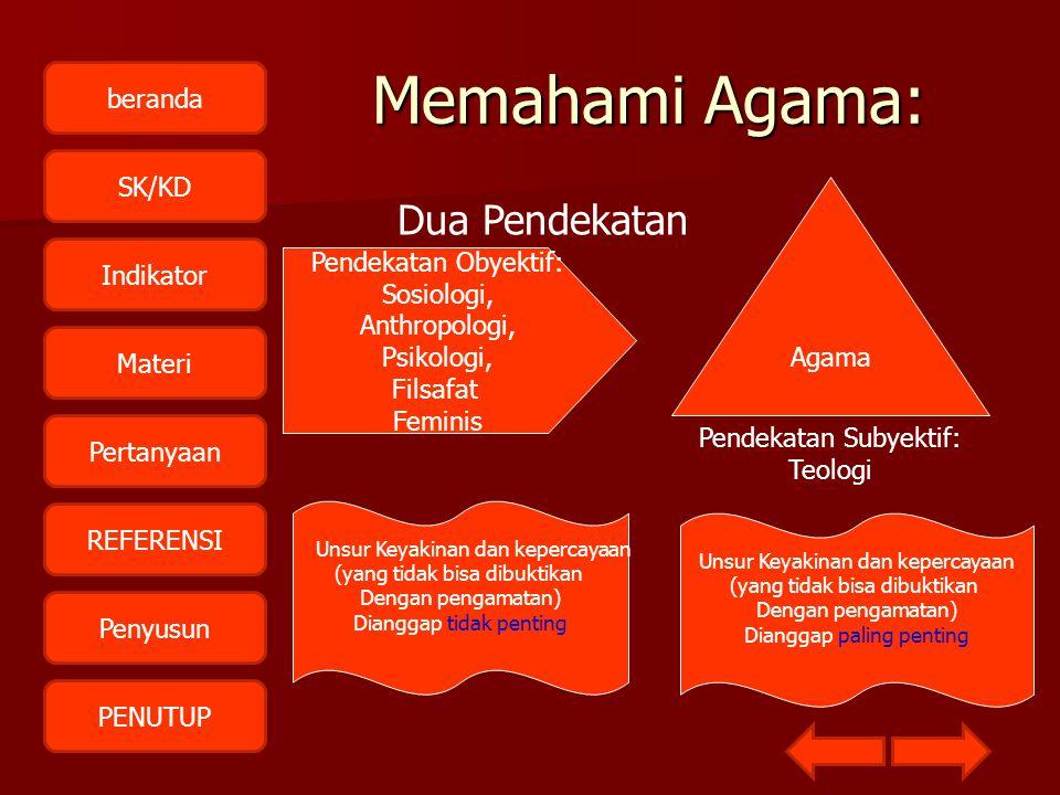 beranda SK/KD Indikator Materi Pertanyaan REFERENSI Penyusun PENUTUPPengertian Etimologis DDDDari bahasa sansekerta: a dan gama.