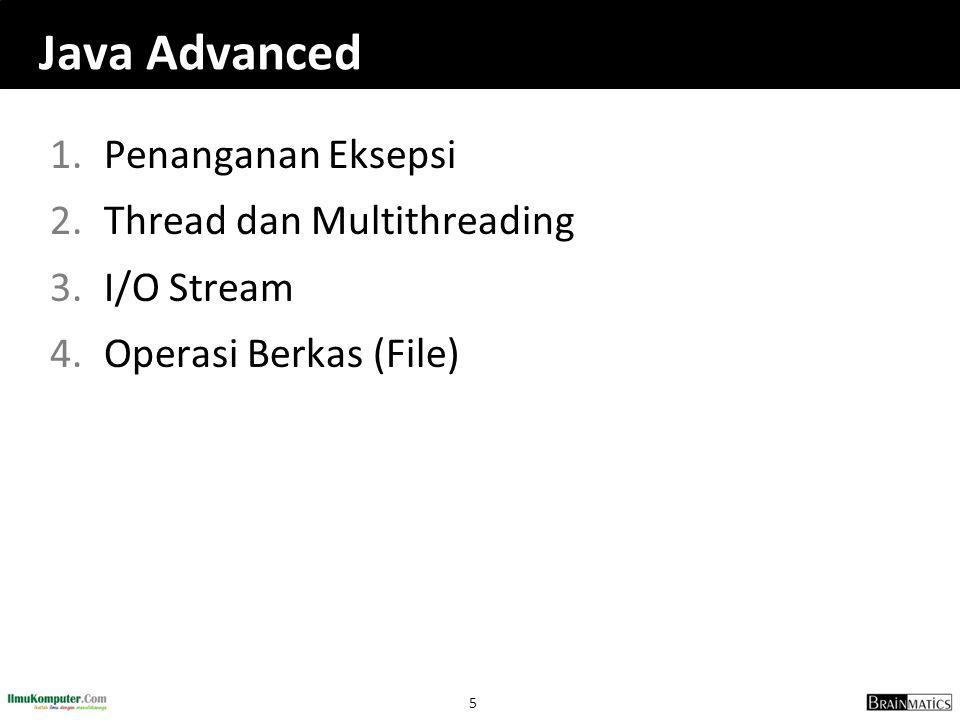 26 5.2 Thread dan Multithreading
