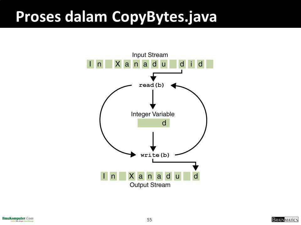55 Proses dalam CopyBytes.java