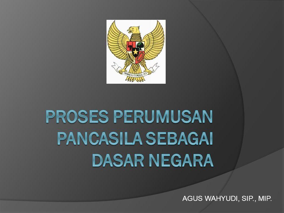Pembentukan Badan Penyelidik Usaha-Usaha Persiapan Kemerdekaan Indonesia • Jepang meyakinkan bangsa Indonesia tentang kemerdekaan yang dijanjikan dengan membentuk Badan Penyelidik Usaha-Usaha Persiapan Kemerdekaan Indonesia (BPUPKI).