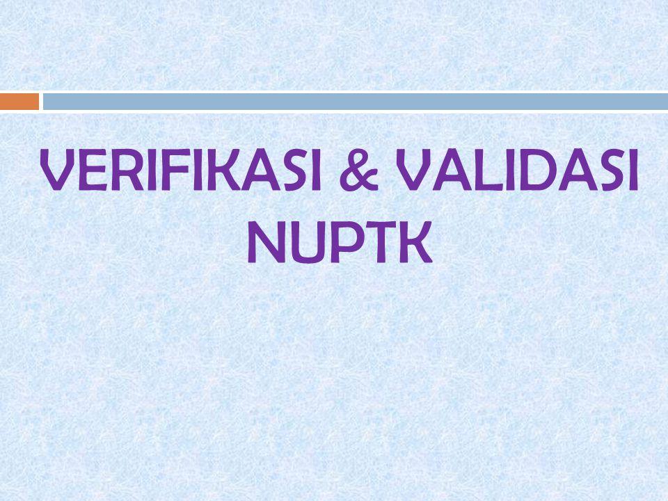  Untuk pemutakhiran data dan menetapkan status AKTIF setiap periode tahun ajaran.