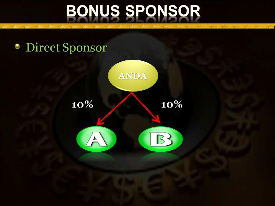 Direct Sponsor ANDAANDA