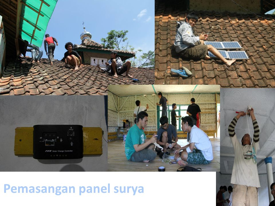 Pemasangan panel surya 17